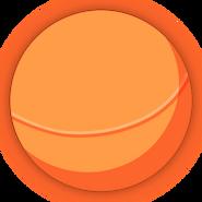 Collectible ball orange