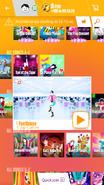 Footloose jdnow menu phone 2017