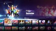 September jd2016 menu
