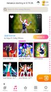 Justdance jdnow menu phone 2020