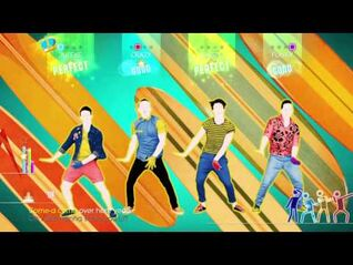 Just Dance 2014 Wii U Gameplay - One Direction- Kiss You