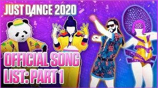 Official Song List (Part 1) - Just Dance 2020 (US)