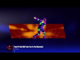 Just Dance 2018 (Unlimited)- Rock N' Roll (Will Take You To The Mountain)