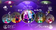 Girlfriend jdw2 menu