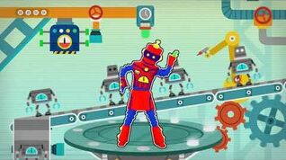 Just Dance 2018 Extract Funky Robot (Kids) (NO GUI)