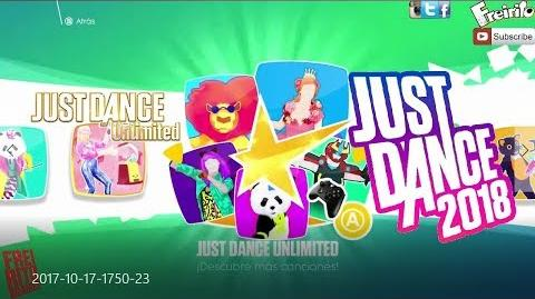 JUST DANCE 2018 KIDS UNLIMITED Official Songlist Playlist Canciones - Freirito