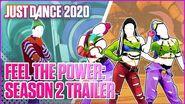 Just Dance 2020 Feel The Power Season 2 Trailer Ubisoft US