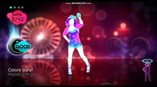 Just Dance Summer Party Firework - 5 Stars