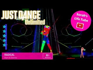 Radical, Dyro & Dannic - SUPERSTAR, 2-2 GOLD - Just Dance 2017 Unlimited -PS5-