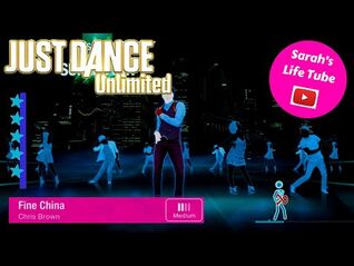 Fine China, Chris Brown - SUPERSTAR - Gameplay - Just Dance 2014 Unlimited -PS5-