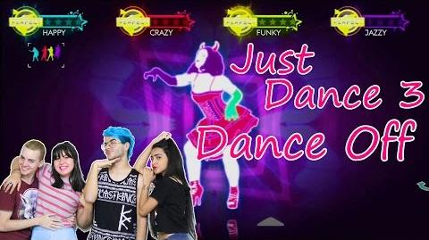 Just Dance 3 Baby One More Time Dance Off 4-Player Gameplay!