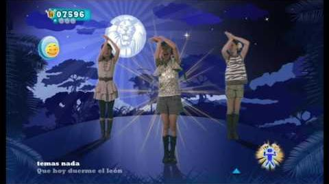 The Lion Sleeps Tonight (Spanish Version) - Just Dance Kids 2