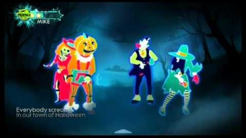 This is Halloween - Just Dance 3 (Wii graphics)