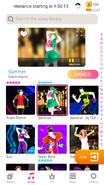 Summer jdnow menu phone 2020