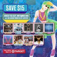 Target justdance2015 promotion