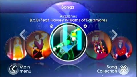 Just Dance Greatest Hits - Song List menu - With 2 Secrets Codes