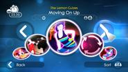 Movingonup jdsp menu