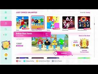 Just Dance 2020 (Unlimited) Balkan Blast Remix (Angry Birds) 5*'s Gameplay