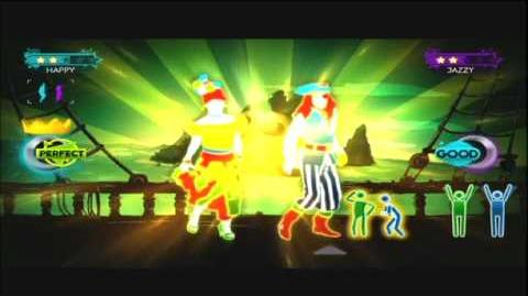 Just Dance 3 The Sunlight Shakers Jump In the Line