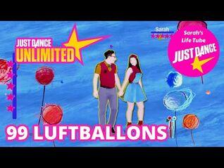 99 Luftballons, Rutschen Planeten - MEGASTAR, 4-4 GOLD - Just Dance 2014 Unlimited -PS5-