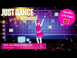 Girls Just Want To Have Fun, Cyndi Lauper - 5 STARS - Gameplay - Just Dance 1 Unlimited -PS4-