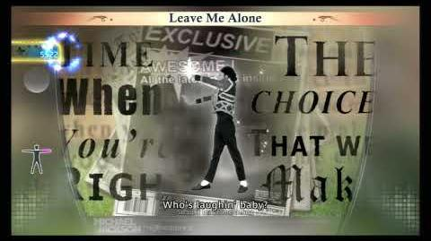 Leave me Alone - Michael Jackson The Experience (PS3)