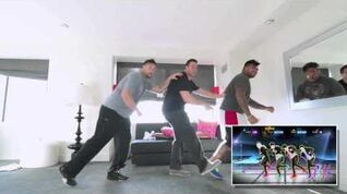 Pro Football Player Dance Off Just Dance 4