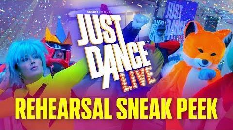JUST DANCE LIVE – Rehearsal Sneak Peek