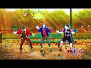 Just Dance 2020- The Bench Men - Don't Worry, Be Happy (MEGASTAR)