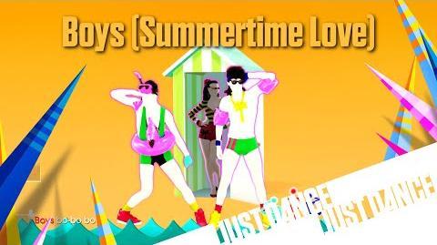 Boys (Summertime Love) - Just Dance 2016