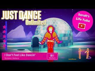 I Don't Feel Like Dancin', Scissor Sisters - MEGASTAR - Gameplay - Just Dance 3 Unlimited -PS5-