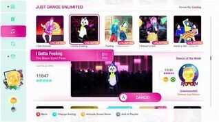 Just Dance 2020 (Unlimited) I Gotta Feeling 5*'s Gameplay