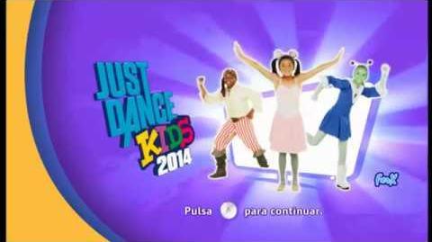 Wii Just Dance Kids 2014 - Song list Extras