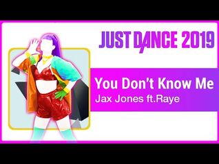 Jusr Dance 2019 (Unlimited)- You Don't Know Me