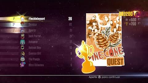 Just Dance 2016 - JD Unlimited Quest (Pine Cone Quest - Dance Master) - 9 10
