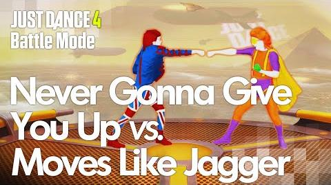 Never Gonna Give You Up vs
