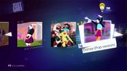 Danse jd2014 menu