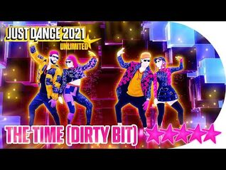 Just Dance 2021 (Unlimited)- The Time (Dirty Bit) - 5 stars