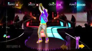 Moves Like Jagger - Just Dance 4 Gameplay Teaser (US)