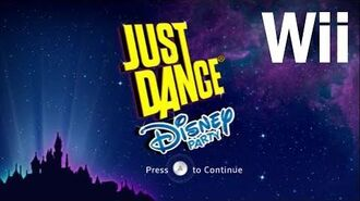 Song List - Just Dance Disney Party