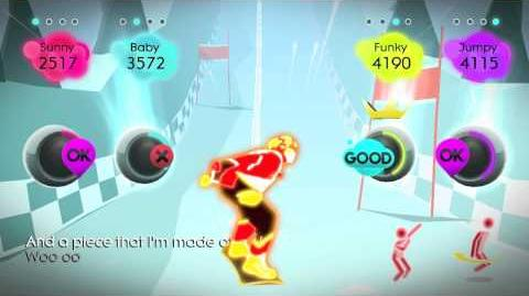 Just Dance 2 Gameplay - Song 2