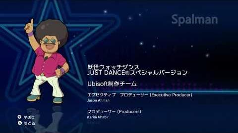 Yo-kai Watch Dance Just Dance SE Credits