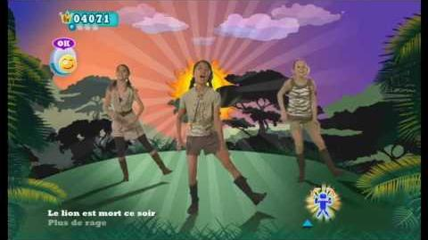 The Lion Sleeps Tonight (French Version) - Just Dance Kids 2