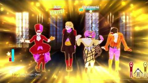 Just Dance 2017 unlimited Crucified 5 stars