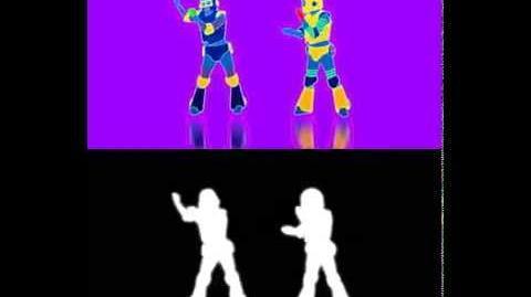 EXTRACT! Da Funk - Daft Punk Just Dance 3