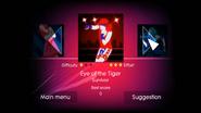 Eyeofthetiger jd1 menu