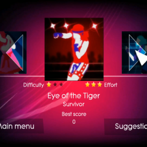 Eye Of The Tiger Just Dance Wiki Fandom