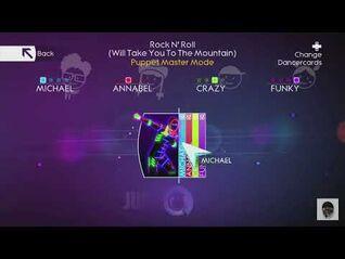 Rock n, roll puppet master mode just dance 4