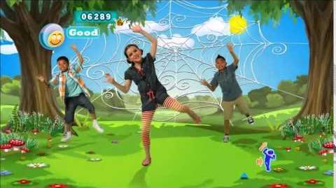 Itsy Bitsy Spider - Just Dance Kids 2