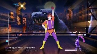 Never Gonna Give You Up - Just Dance 4 Gameplay